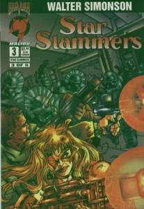 Star Slammers (1994 series) #3, NM- (Stock photo)