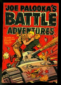 Joe Palooka's Battle Adventures #72 1952- Commies- Harvey comics- P/FR