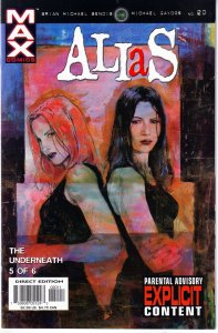 Alias(vol.1) # 15,16,17,18,19,20,21 Date Night and The Underneath Parts 1 - 6