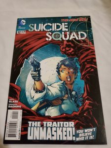 Suicide Squad 12 Near Mint Cover by Ken Lashley