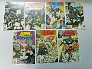 War Machine lot #1 to #7 1st Series 7 different books minimum 9.0 NM (1994)
