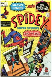 SPIDEY SUPER STORIES #1, VF+, Origin, Spider-man, 1974, more in store