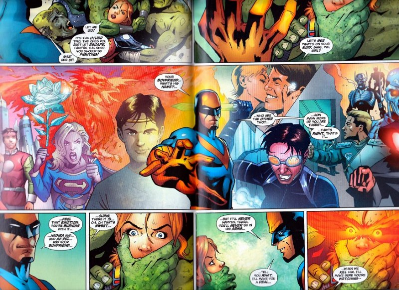Action Comics # 875,876,879 Enter: Nightwing and Flamebird !