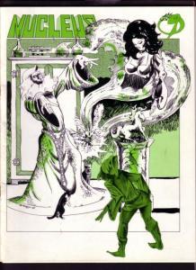 NUCLEUS FANZINE #9-MARK WHEATLEY-Tales of Gore- SHADOW VF