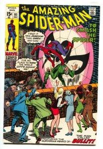 Amazing Spider-man #91 1970- Marvel Bronze Age FN+