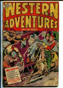 Western Adventures #2 1948-Ace-Cross-Draw Kid-The Skull-Good Girl Art-G
