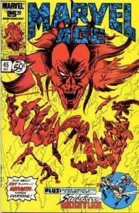 Marvel Age #45, VF (Stock photo)