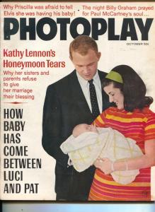 Photoplay-Luci&Pat Nugent-Elvis Presley-Walter Matthau-Robert Vaughn-Oct-1967