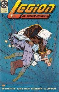 Legion of Super-Heroes (1989 series) #2, NM (Stock photo)