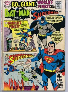 World's Finest #179 Batman Superman ORIGINAL Vintage 1968 DC Comics 80 Page
