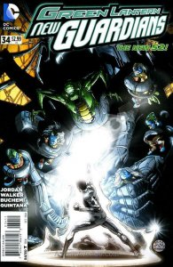 Green Lantern: New Guardians #34 VF/NM; DC | save on shipping - details inside