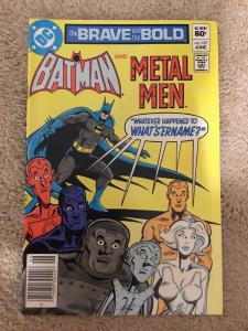 DC The Brave And The Bold 187 Starring Batman And Metal Men