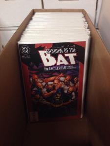 Batman Shadow Of The Bat 1-94 Annual 2-5 Near Mint Lot Set Run Missing # 80 Ann1