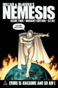 NEMESIS (2010 Series)  (MARVEL/ICON) #2 JOHN CASSADAY VARIANT NM.