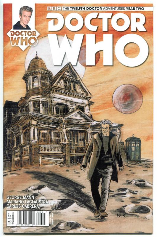 DOCTOR WHO #6 D, NM, 12th, Tardis, 2016, Titan, 1st, more DW in store, Sci-fi