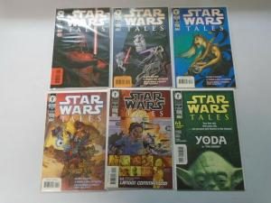 Star Wars Tales comic lot #1-22 17 different issues (1999-2004) avg 8.0/VF