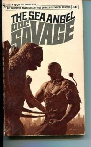 DOC SAVAGE-THE SEA ANGEL-#49-ROBESON-VG-JAMES BAMA COVER-1ST EDITION VG