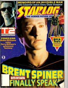 Starlog # 171 October Magazine Star Trek Star Wars Terminator 2 Bill & Ted J292