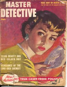 Master Detective 9/1952-Macfadden-pulp crime thrills-FR