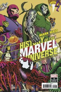 HISTORY OF MARVEL UNIVERSE #5 (OF 6) RODRIGUEZ VARIANT