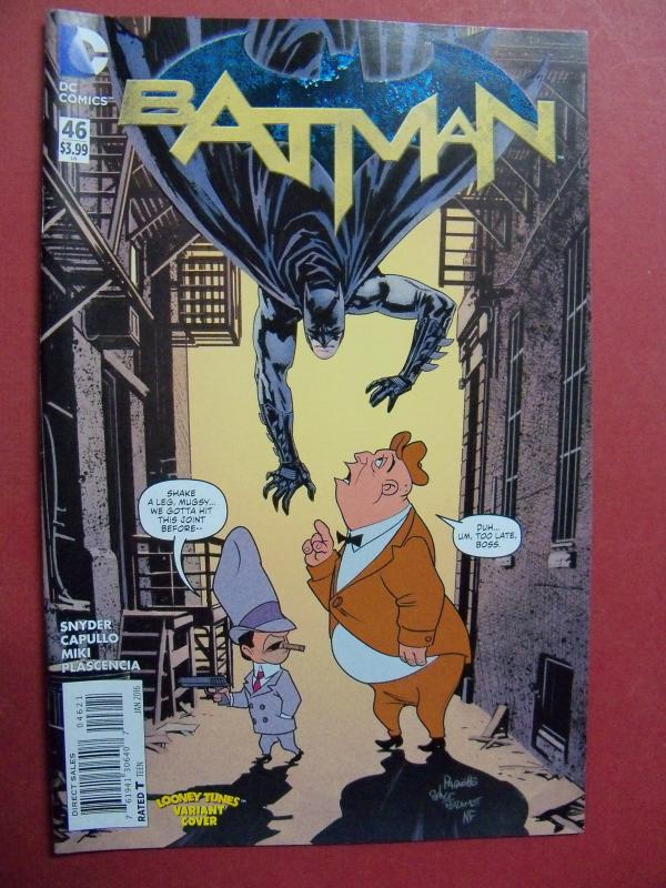 BATMAN #46 LOONEY TUNES Variant Cover 2016 Near Mint 9.4 Or Better