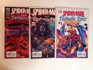 Spider-man Fantastic Four 1 3 4 Near Mint Lot Set Run