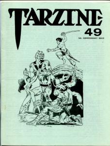 Tarzine #49 1986-Fanzine for collectors of Tarzan and ERB memorabilia-VF