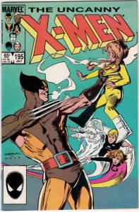 X-Men #195 (Jul-85) VF/NM High-Grade X-Men