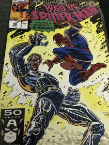 Marvel Web of Spider-Man #80 Mint
