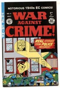 War Against Crime #4 2000- Gemstone reprint- EC comic