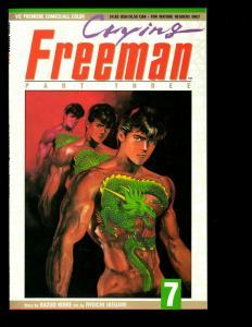 10 Crying Freeman Viz Premiere Comics Pt.3 # 7 8 9 Pt.1 # 1 2 3 4 +MORE JF16
