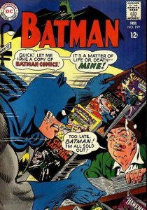 Batman #199 stock photo