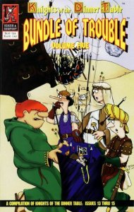 Knights of the Dinner Table TPB #5 FN; Kenzer and Company | save on shipping - d