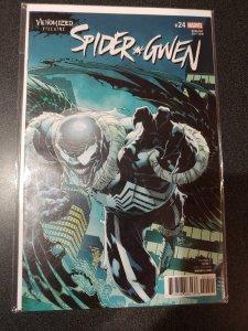 Spider-Gwen 24 1st print venomized villains cover