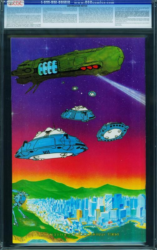 MACROSS #1 cgc 9.4 1984-First ROBOTECH- comic book- 0272277002