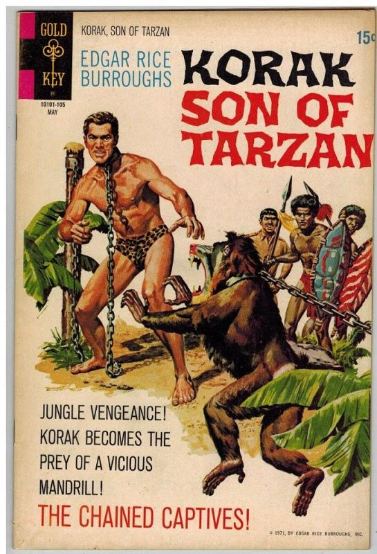 KORAK SON OF TARZAN 41 FN- May 1971 COMICS BOOK