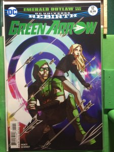 Green Arrow #12 DC Universe Rebirth