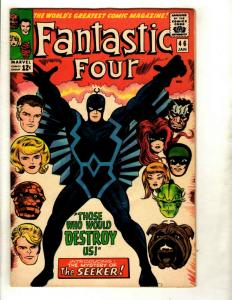 Fantastic Four # 46 VF Marvel Comic Book Silver Age Thing Human Torch Doom GK1