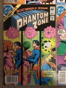 DC Superman Presents The Phantom Zone 1-4 Complete Set * 1982 *