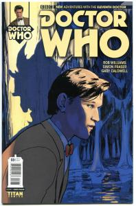 DOCTOR WHO #3, NM-, 11th, Tardis, 2014, Titan, Variant, more DW in store