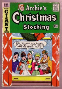 ARCHIE'S CHRISTMAS STOCKING #6 1959 ARCHIE GIANT SERIES VG