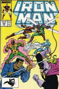 Iron Man (1968 series) #224, VF+ (Stock photo)