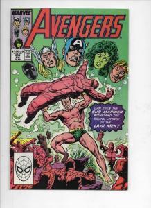 AVENGERS #306, VF/NM, Captain, Thor, Lava Men, 1963 1989, more Marvel in store