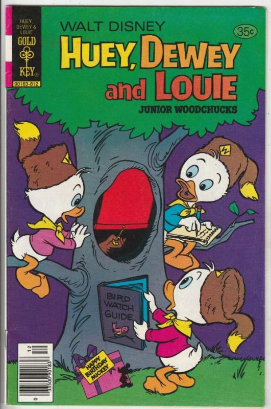 Huey Dewey and Louie Junior Woodchuks #53 (Dec-78) VF/NM+ High-Grade Huey Dew...