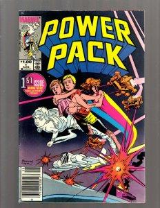 Power Pack # 1 VF Marvel Comic Book Spider-Man Avengers Hulk Thor Iron Man GK21