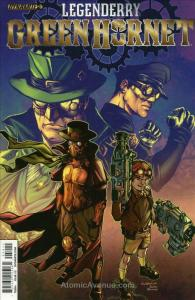 Legenderry: Green Hornet #5A VF; Dynamite | save on shipping - details inside