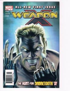 Weapon X # 1 VF/NM Marvel Comics Wolverine X-Men Cyclops Magneto Sabretooth S80