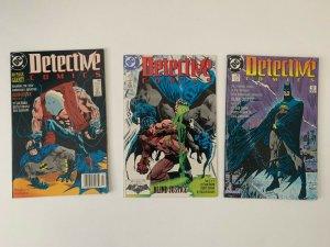 BATMAN, DETECTIVE COMICS #598-600, DC Comics, Blind Justice set VF/VF+