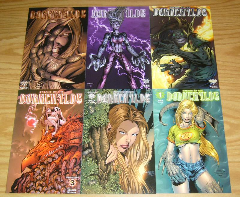 Dreams of the Darkchylde 1-6 VF/NM complete series - randy queen bad girl set