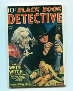 BLACK BOOK DETECTIVE-REPRODUCTION-LIMITED EDITION-THE WHITE WITCH-SPRING ISSUE